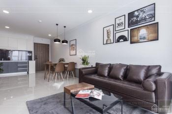 Cho thuê căn hộ 2PN, Tầng 20, 75m2 nội thất như hình giá 17.5 triệu bao phí quản lý 0909931237