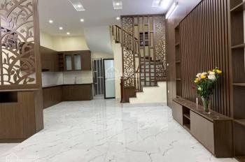 Nhà đẹp Trương Định, HBT, 55m2x5T, ngõ rộng nông, lô góc cực thoáng, tin chuẩn 100%
