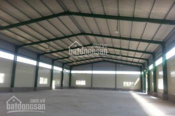 Cho thuê kho xưởng 4000m2 mặt tiền đường Tân Tạo, P. Tân Tạo, Q. Bình Tân