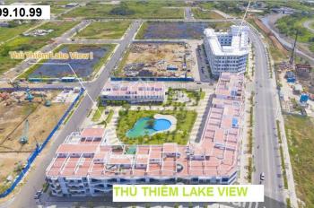 Bán nhà phố, shophouse Lake View Thủ Thiêm, giá bán từ 22 tỷ. Xây dựng hầm + 4 lầu