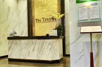 Cần cho thuê căn hộ cao cấp The Tresor Q4 office DT 29m2 NT rèm, ML tiện ở hoặc làm VP. Giá: 10tr