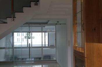 Nhà nguyên căn lửng 3 lầu 6PN 5WC đẹp lung linh liền kề Phú Mỹ Hưng Q.7, chỉ 22tr/tháng, 0909517678