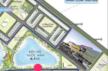 Bán biệt thự đơn lập shophouse biển hồ Hải Âu 1 - 280m2 , LH: 0969.94.6869