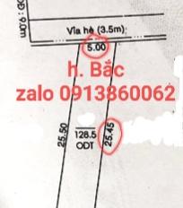 Bán nhà mặt tiền CMT8, P. Chánh Nghĩa, Thủ Dầu Một, Bình Dương. DT 128,5m2, 5xm25m, giá 11 tỷ