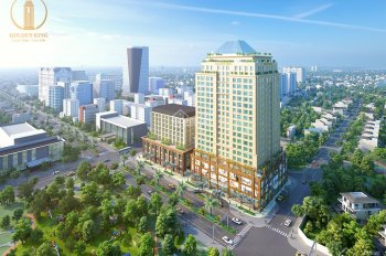 Cho thuê căn hộ văn phòng Golden King 31m2 - 17tr/th. View đẹp nhất Phú Mỹ Hưng