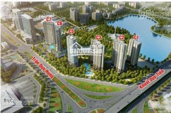 Bán lại chung cư Vinhomes Trần Duy Hưng, cắt lỗ 1/4 giá trị căn hộ hỗ trợ vay 60%. LH 0982177940
