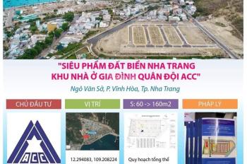 Dự án Nhà Ở Quân Đội ACC Vĩnh Hoà, Nha Trang, Khánh Hoà