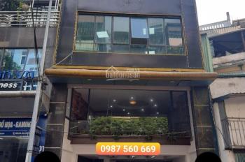 Cho thuê nhà mặt phố Trần Quốc Vượng, Xuân Thủy, DT 100m2 x 7 tầng, giá 65tr/th. LH 0987 560 669