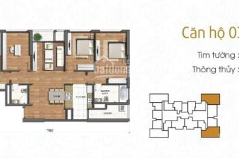 Bán căn hộ Park 3 Times City Park Hill, 151m2, 4 phòng ngủ, miễn môi giới