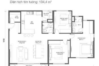 Tôi bán căn 10 diện tích 124,6 m2 tầng 17 chung cư Premier Berriver giá 4.650 tỷ bao phí bảo trì 2%