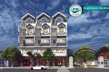 Nhà phố 4,5 tấm MT An Dương Vương, SHR, khu compound cao cấp, trả chậm 12 tháng. LH: 0908.322.223