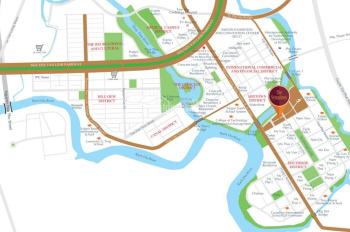 Cho thuê căn shophouse KD, Sakura Park, Phú Mỹ Hưng 75m2 giá 46 triệu
