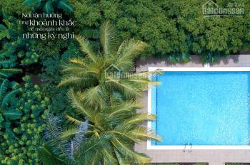 Bán miếng đất biệt thự nhà vườn bên sông 1400m2, Q9, giá 21 tr/m2