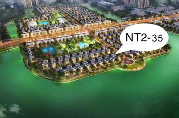 Chính chủ gửi bán lại gấp biệt thự song lập Tây Bắc 183.6m2, NT02-35 Vinhomes Ocean Park giá 16,9tỷ
