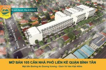 Mở bán 105 căn nhà phố mặt tiền đường An Dương Vương - Bình Tân, sổ đỏ riêng từng căn - 0908982299