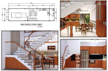 Bán căn nhà phố mặt tiền An Dương Vương P. An Lạc, Q. Bình Tân, 3 tầng giá 6.8 tỷ/căn - 0908982299