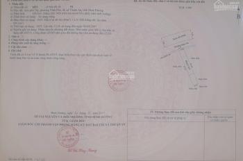 Bán lô đất đẹp HX tải, 124,5m2, cách Quốc Lộ 13 800m, Vĩnh Phú 33, Vĩnh Phú, Thuận An, Bình Dương