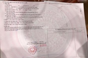 Bán đất mặt tiền Nguyễn Chí Thanh, thị xã La Gi, Bình Thuận DT 10x92m có 100m2 thổ cư giá 2.4 tỷ