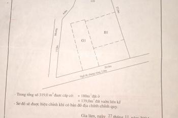 Bán đất 50m2 tại tổ Yên Hà, TT Yên Viên, Gia Lâm, HN