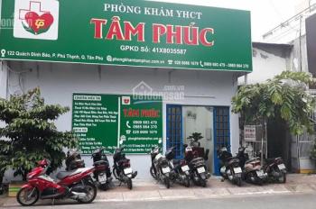 Bán nhà mặt tiền đường Quách Đình Bảo, 4.6mx19.2m, nhà cấp 4, giá 8 tỷ, P. Phú Thạnh, Q TP