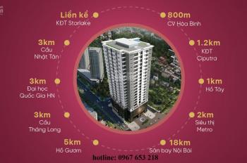 Bán căn hộ N03T7 Tây Hồ Golden Land - giá hấp dẫn - LH: Mr. Long 0967 653 218
