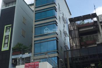 Cho thuê nhà mặt tiền Nguyễn Thái Bình, DT: 5m x 22m, hầm 7 lầu - ST, 14 phòng, toilet riêng, 100tr
