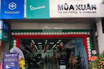 Cho thuê nhà mặt đường 753 Giải Phóng đối diện Nguyễn Văn Trỗi DT 210m2 * 2 tầng, 70 triệu/tháng