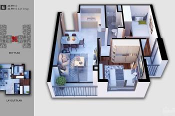 Bán căn hộ Saigon Avenue, căn 47m2 view hồ bơi thoáng mát giá 1.45 tỷ bao sang tên, LH 090 2425 162