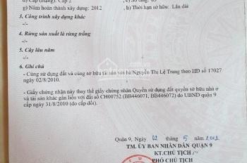 Cần bán căn biệt thự khu dân cư Nam Long, Phường phước long B, Quận 9