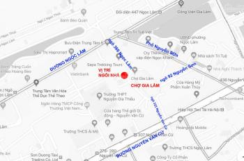 Bán nhà 7 tầng mặt phố Chợ Gia Lâm, ngõ 366, Đường Ngọc Lâm, phường Ngọc Lâm, Long Biên