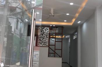 Cho thuê nhà mặt tiền Hoàng Văn Thụ, phường 9, Phú Nhuận. 4x17m, 4 tầng, giá thuê 50 triệu/tháng