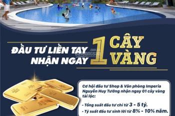 Mở bán mặt bằng văn phòng dự án Imperia Garden, 203 Nguyễn Huy Tưởng lợi nhuận 8 - 10%/năm