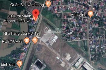 Bán lô đất 102m2, ngang 6m, sát cạnh KCN Tràng Duệ
