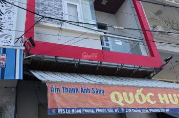 Cho thuê nhà 3 tầng mặt tiền Lê Hồng Phong phù hợp mọi loại hình kinh doanh
