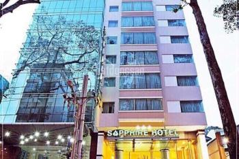 Bán khách sạn mặt tiền đường Nguyễn Trãi, Phường Bến Thành, Quận 1. (4.3x20m) giá chỉ 55.5 tỷ TL