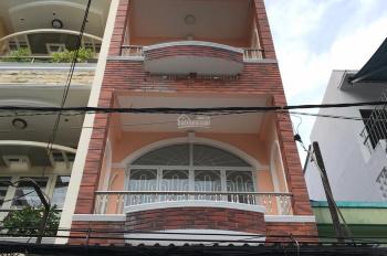 Bán nhà đường Trần Mai Ninh - Trường Chinh, DT: 4,5x18m nhà 2 mặt tiền trước sau Trệt, 2 lầu, ST
