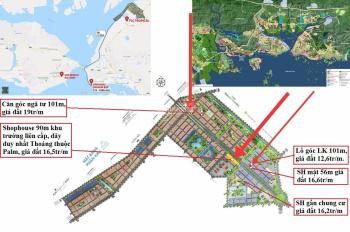 BÁN GẤP nhiều lô Tropical City GĐ1 siêu rẻ từ 12tr/m - Lô Góc. LH Ms Thảo 096916247
