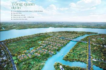 Đất nền biệt thự vườn 3 mặt ven sông Đồng Nai liền kề Vinhome Q9, giá chỉ từ 21tr/m2, LH 0902517697