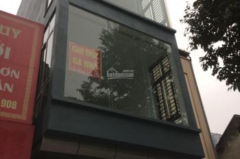 Cho thuê cả nhà 4 tầng mặt đường phố Quang Trung, Hà Đông