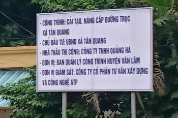 Bán đất thôn Ngọc Loan, xã Tân Quang, Văn Lâm, Hưng Yên. LH Mr Tùng 0985 299 336