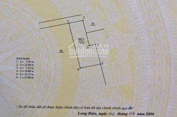 Gia đình cần bán mảnh đất tuyệt đẹp tại làng cổ Phúc Xá - ngõ 293 Ngọc Thụy