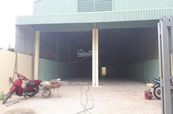 Cho thuê xưởng mới hết hạn hợp đồng 300m2, giá 12tr/tháng, ở gần ngã 3 Đông Quang