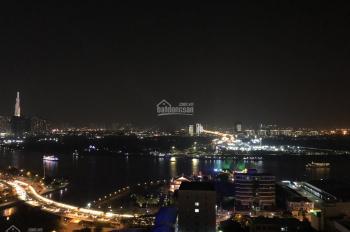 Cho thuê căn hộ 2 phòng ngủ, SaiGon Royal, 88m2 Full NT View Bitexco, sông SG, giá chỉ 1300