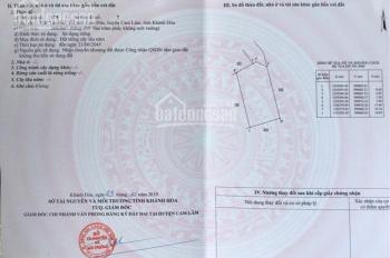 Đinh Tiên Hoàng khu liên cơ UBND huyện Cam Lâm, khu vip lô 83 - 84 - 86 và 24. Giá 1,5 tỷ, 200m2