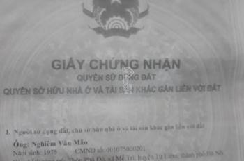 Chính chủ cần bán nhà 5 tầng, tại tổ 3 phường Phú Đô Quận Nam Từ Liêm, Hà Nội