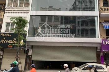 Cho thuê nhà mặt phố Tôn Đức Thắng. MT: 6m DT: Tầng 1: 130m2, tầng 2: 50m2