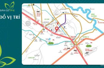Bán nhanh đất nền mặt tiền Trần Văn Chẩm, QL22, 600 triệu nhận nền xây nhà ngay. LH: 0909.506.660