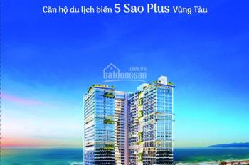 Chính chủ bán căn hộ The Sóng Vũng Tàu 5 sao, 72m2, 2PN, căn số 23 view trực diện biển, lầu trên 20
