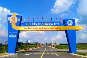 Bán gấp lô đất dự án mặt tiền QL13, TT Lai Uyên, Bàu Bàng, 699 triệu, dự án đã có nhà xây dựng và ở