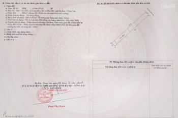 Thổ cư 3 mặt tiền Phú Mỹ, trung tâm khu dân cư, ngay cao tốc giá chỉ từ 2,3tr/m2. LH 0902424000